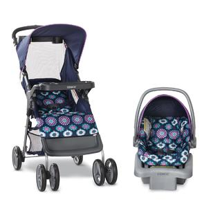 Cosco Girls' Lift & Stroll Travel System - Midnight Garden