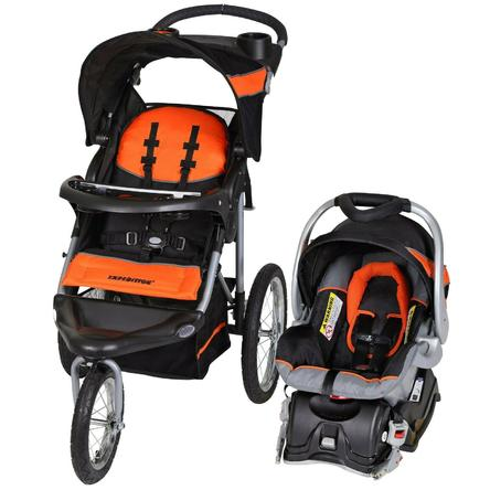 Baby Trend Expedition Jogger Travel System, Orange One Size - FLJ CORPORATIONS