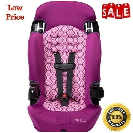 Cosco Baby Convertible Car Seat Booster 2in1 Toddler Highback Safety Travel Girl Chair