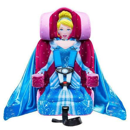 KIDSEmbrace Booster Car Seat Combination Pink Princess Cinderella Child Vehicle Girl Chair