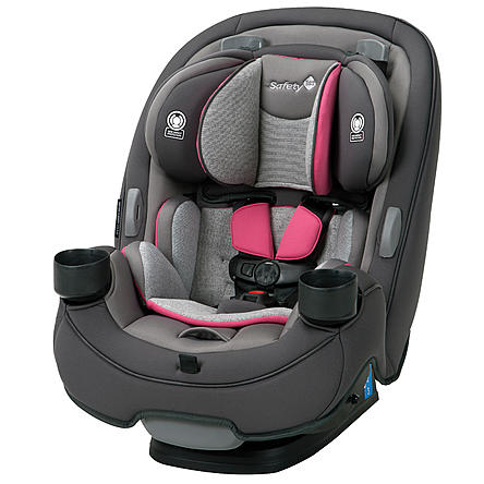 Safety 1st Grow and Go 3-in-1 Convertible Car Seat - Everest Pink