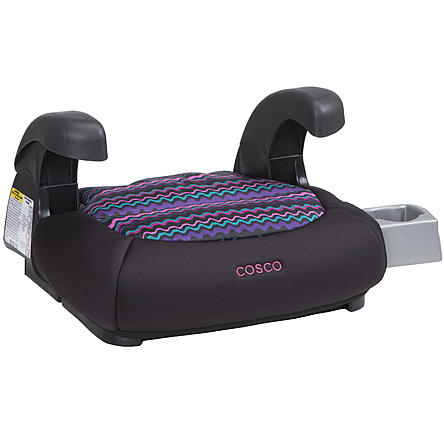 Cosco Pronto Booster Car Seat - Crinkle