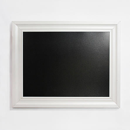 "Linon 24""x30"" Chalkboard with White Frame - FLJ CORPORATIONS"
