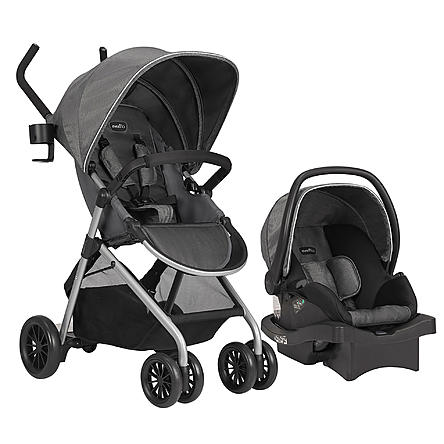 Evenflo Sibby Travel System with Infant Car Seat