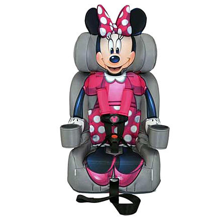 KIDSEmbrace Minnie Mouse Booster Car Seat with Combination Harness