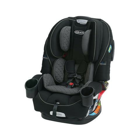 Graco 4Ever 4 in 1 Car Seat featuring TrueShield Side Impact Technology Black