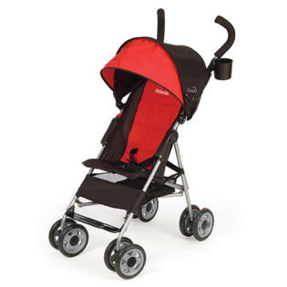 Kolcraft Cloud Umbrella Stroller Travel-Friendly Compact Fold Lightweight RED