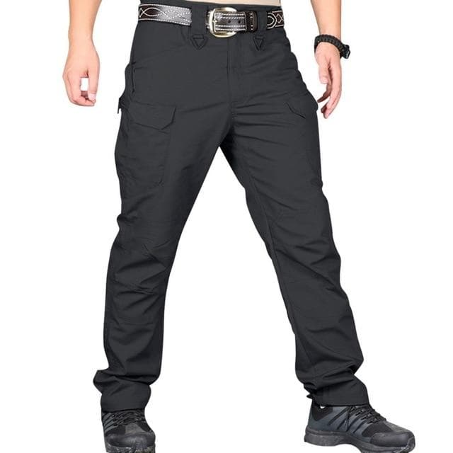 Men's Tactical Pants Casual Autumn Lightweight Water-Resistant Hiking Homme Pants - FLJ CORPORATIONS
