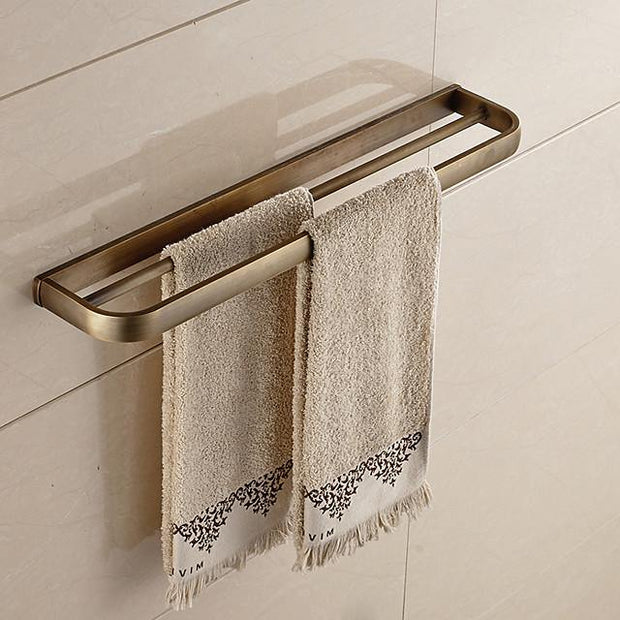 Bathroom Accessory Set Antique Metal 5pcs - Hotel bath Toilet Paper Holders / tower bar / soap dish Wall Mounted