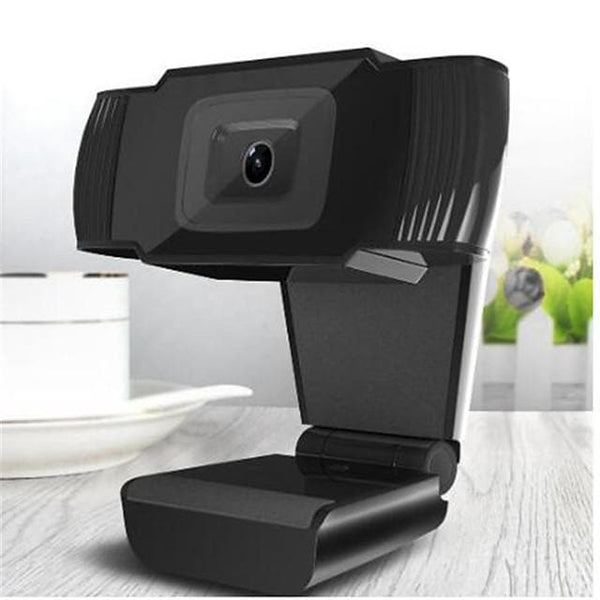 New 30 degrees rotatable 2.0 HD Webcam 720p USB Camera Video Recording Web Camera with Microphone For PC Computer - FLJ CORPORATIONS