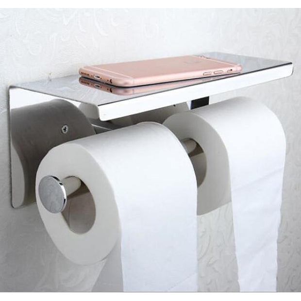 Toilet Paper Holder Premium Design / Cool Modern Stainless Steel / Iron 1pc Toilet Paper Holders Wall Mounted