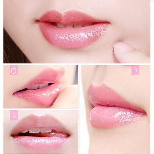 20pcs Lip Mask For Lip Plumper Moisture Essence Plant Flower Extract Exfoliating Anti-Ageing Exfoliating Scrub Lip Film - FLJ CORPORATIONS