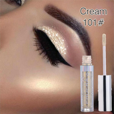12colors Eyeshadow Liquid Waterproof Glitter Eyeliner Shimmer Makeup Cosmetics - FLJ CORPORATIONS