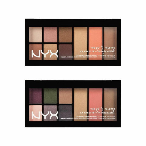 NYX The Go To Eye Shadow Palette -Wanderlust/Bon Voyage - FLJ CORPORATIONS