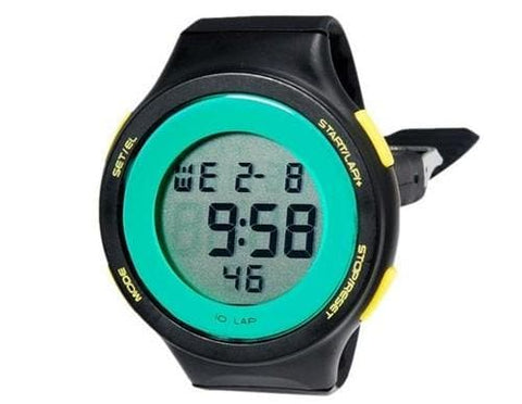 SHORS SH-786 Unisex Round 30 m Water Resistant LED Watch M. - Black