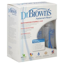 Dr. Brown's Newborn Natural Flow Feeding Set