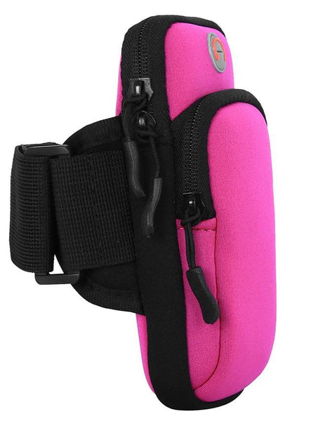 Neoprene Arm Pack Outdoor Diving Sports Fitness Mobile Phone Bag Waterproof Unisex 6 Inch Or Less - FLJ CORPORATIONS