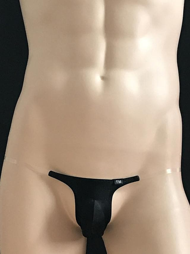 Men's G-strings & Thongs Panties Solid Colored 1 Piece Black Wine White M L XL / Club - FLJ CORPORATIONS