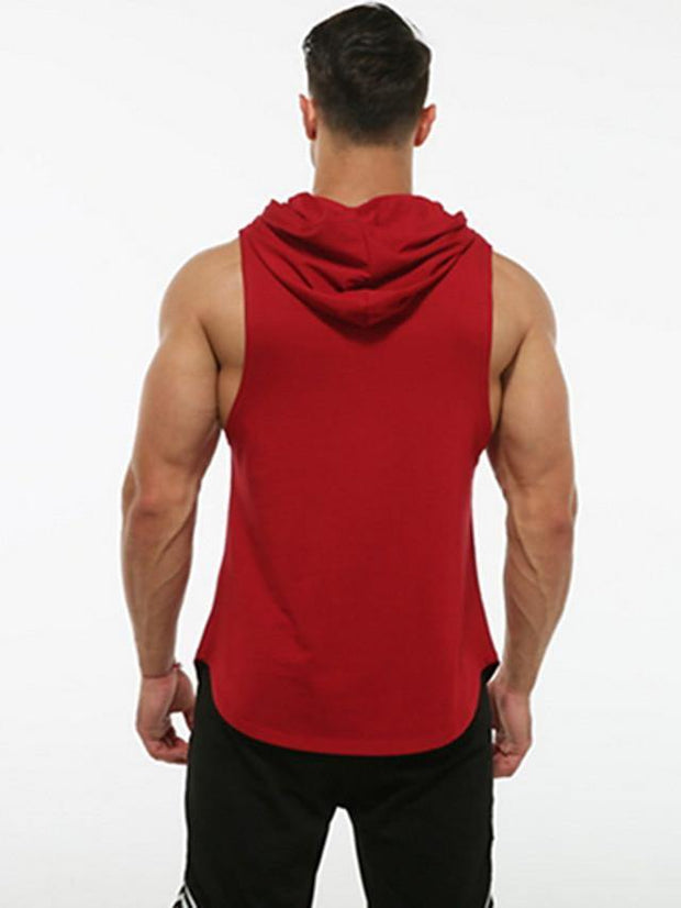 Men's Hoodie Solid Colored Hooded Casual Hoodies Sweatshirts  White Black Wine