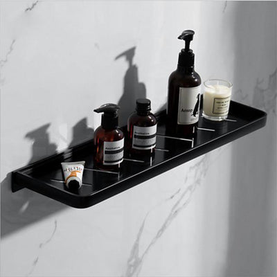 Simple Bathroom Shelf Creative Contemporary Aluminum Single Wall Mounted