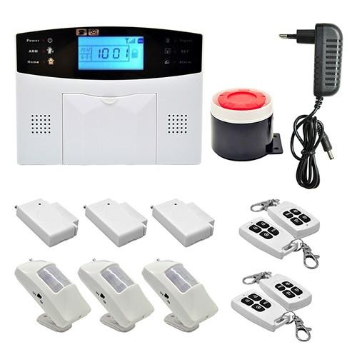 Wireless GSM SMS Home Burglar Security Alarm System Detector Sensor Call(EU Plug)Original text - FLJ CORPORATIONS