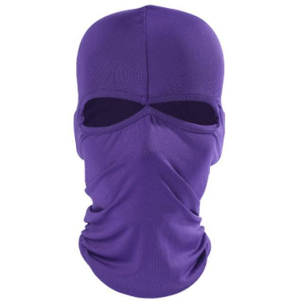Balaclava Windproof Sunscreen Quick Dry Dust Proof Comfortable Bike / Cycling Purple Yellow Red Lycra for Men's Women's Adults' Camping / Hiking Ski / Snowboard Hiking Cycling / Bike Motobike - FLJ CORPORATIONS