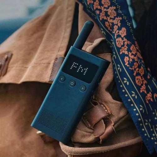 Xiaomi 1S Outdoor Walkie Talkie Location Sharing Mobile Phone Writing Frequency FM Radio - BlueOriginal text - FLJ CORPORATIONS