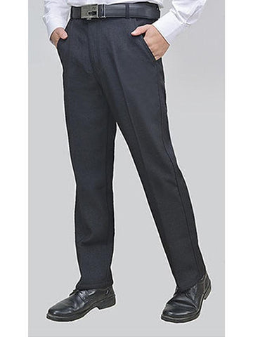 Men's Basic Dress Pants Pants - Solid Colored Black Navy Blue US36 / UK36 / EU44 / US38 / UK38 / EU46 / US40 / UK40 / EU48 - FLJ CORPORATIONS