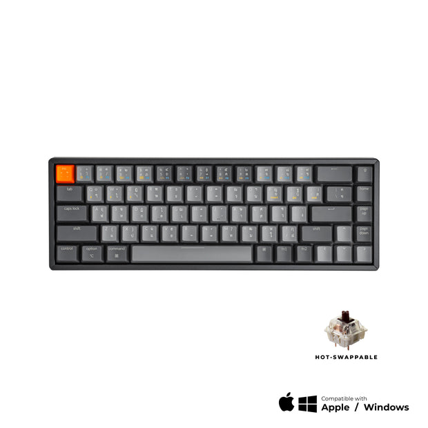 Keychron K6 Wireless Hot-swappable Mechanical Keyboard