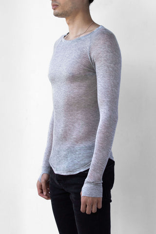 BEAU AIR LONG SLEEVE - SMOKE