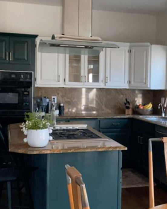 Paint Your Kitchen Cabinets Tutorial