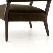 Load image into Gallery viewer, Gary Club Chair - Olive Green