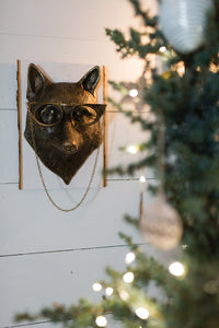 Elouise The Fox Metal Wall Mount