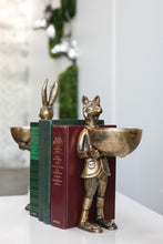 Load image into Gallery viewer, Eloise Brass Fox Dishstand
