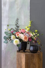 Load image into Gallery viewer, Rohini Modern Black Terracotta Pot Small