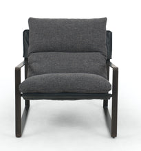 Load image into Gallery viewer, Emmet Industrial Metal Frame Sling Chair