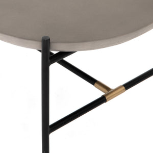 Finian Modern Industrial Coffee Table