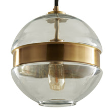 Load image into Gallery viewer, Garrison Antique Brass Round Pendant