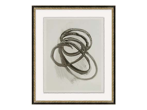 Gesture 1 Intwined Ring Art Piece 21.5x25.5