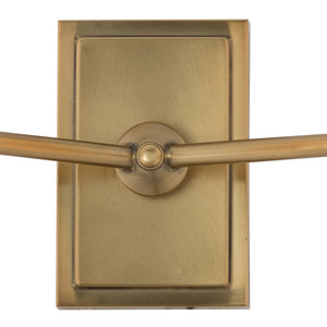 Inwood Off-White Serene Double Sconce