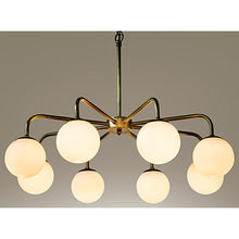 Load image into Gallery viewer, Larenta Antique Brass Classic Modern Chandelier