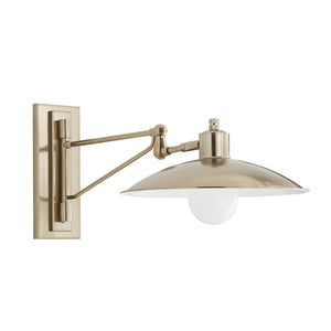 Nox Stainless Steel Bronze Sconce