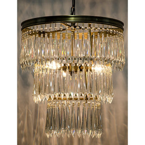 Venice Antique Brass Luxury Chandelier