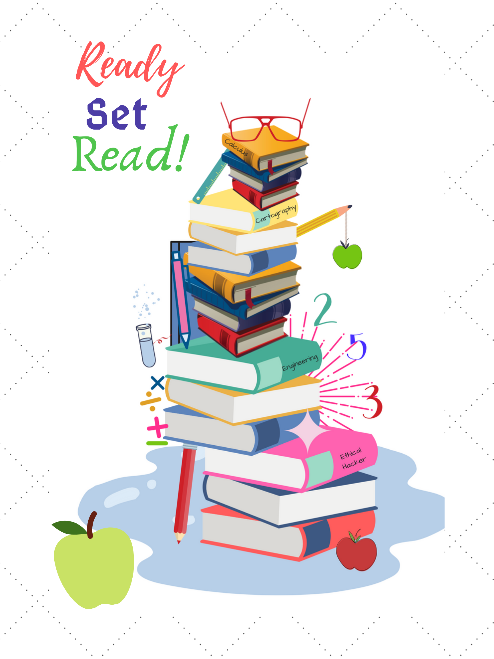 Ready, Set, Read! Poster for a Reading Nook or a Classroom