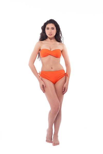 Classic retro vintage European looking Gostosa classic ladies bikini swimsuit by Filosofia swimwear - We also ship to Quebec - Front view 2