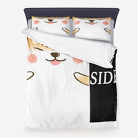 Microfiber Duvet Cover dog side & your side