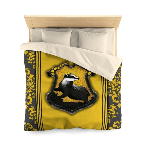 Microfiber Duvet Cover Harry Potter Hufflepuff