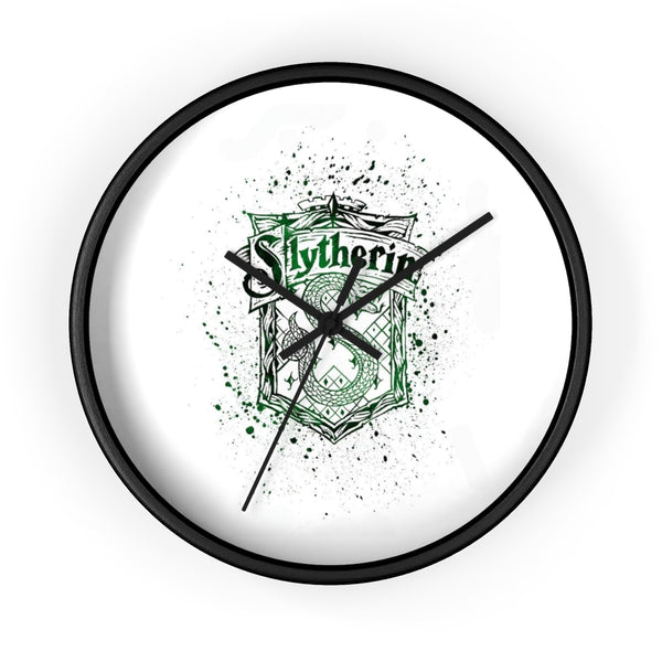 Wall clock Harry Potter Slytherin