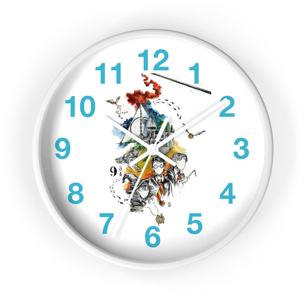 Wall clock Harry Potter Hgwarts