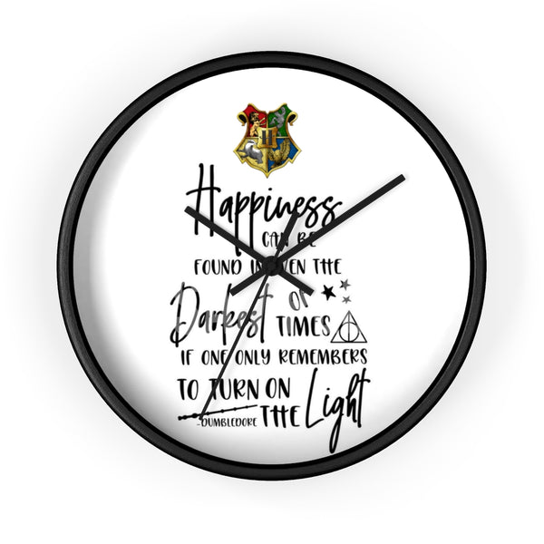 Wall clock Harry Potter